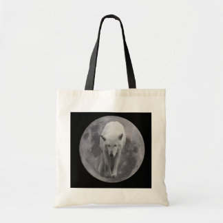 Full Moon Wolf Canvass bag