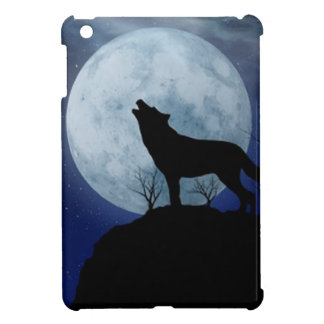 Full Moon Wolf Case For The iPad Mini