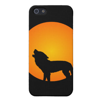 Full Moon Wolf Cover For iPhone SE/5/5s