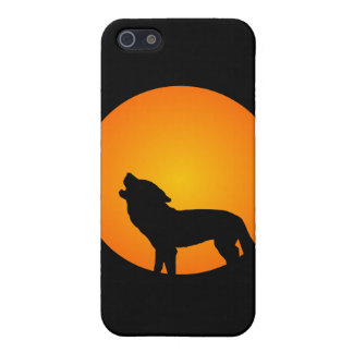 Full Moon Wolf iPhone SE/5/5s Cover