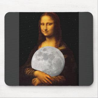 Full Moona Lisa Mouse Pad