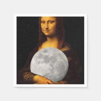 Full Moona Lisa Paper Napkin