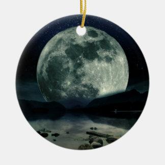 Full Moons Ceramic Ornament