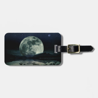 Full Moons Luggage Tag