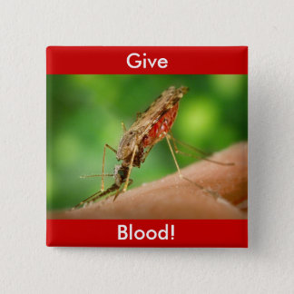 Full Mosquito - State Bird Button