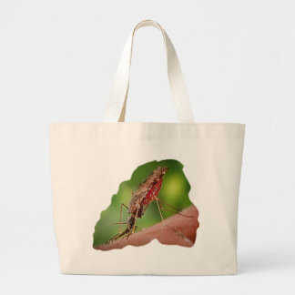 Full Mosquito - State Bird Large Tote Bag