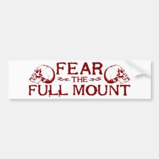 Full Mount Bumper Sticker