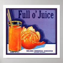 Full o' Juice Poster