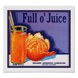 Full o' Juice Poster