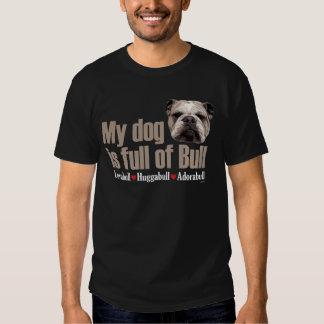 Full of bull- English Bulldog T-shirts