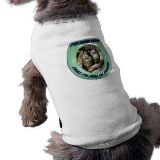 Full of Crappie Doggie T-shirt