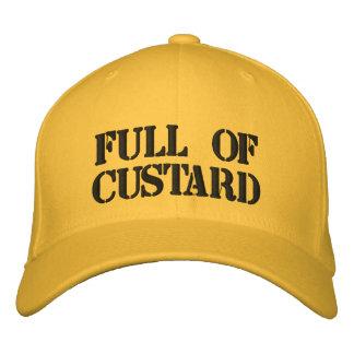Full of Custard Embroidered Baseball Cap
