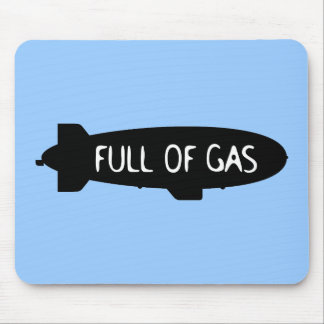 Full Of Gas - Blimp Mouse Pad