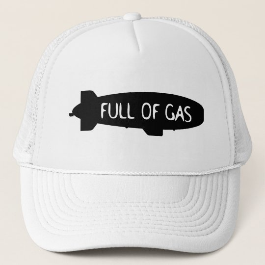Full Of Gas - Blimp Trucker Hat