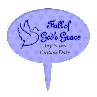 Full of God's Grace Cake Picks