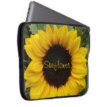 Full of Grace Sunflower Computer Sleeve