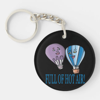 Full Of Hot Air Keychain