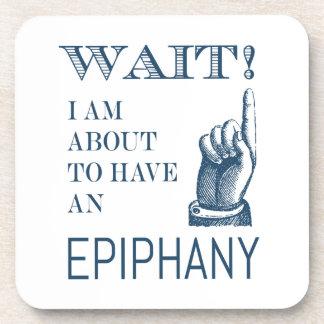 Full of Ideas Creative Epiphany Funny Coaster