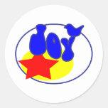 Full of Joy Classic Round Sticker