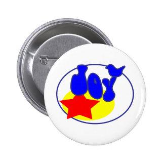 Full of Joy Pinback Button