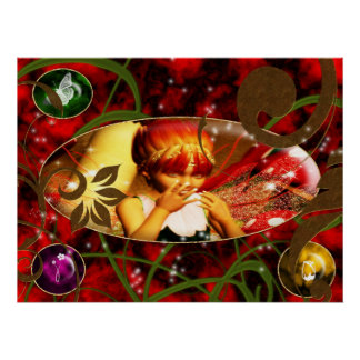 Full of Joy Poster:  Enchanted Gem Series VI Poster