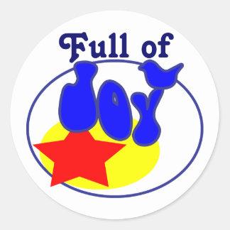 Full of Joy Stickers