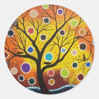 Full Of Life By Lori Everett Classic Round Sticker
