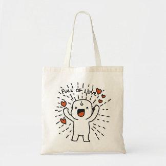 Full Of Love Budget Tote Bag