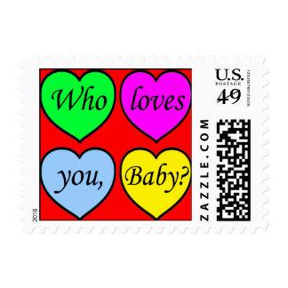Full of love postage