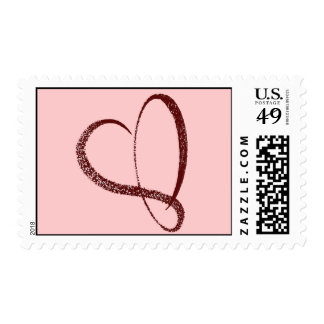 Full of Love Postage Stamp