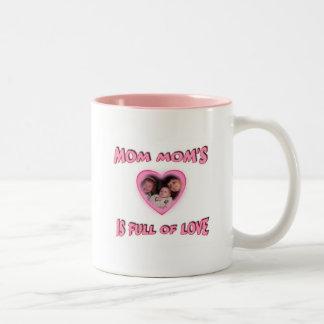 full of love Two-Tone coffee mug