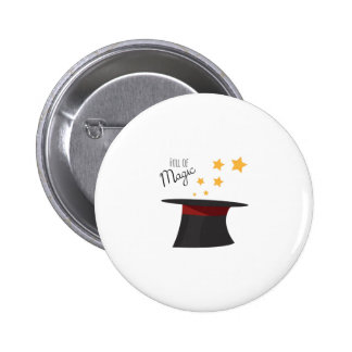 Full of Magic 2 Inch Round Button