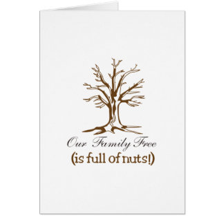 Full of Nuts Card