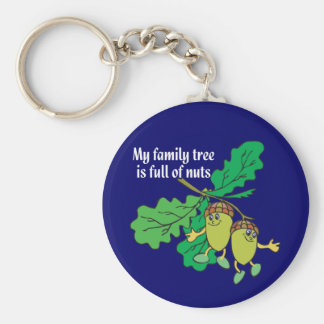 Full of Nuts Keychain