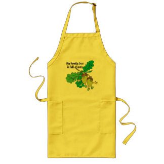 Full of Nuts Long Apron