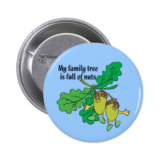 Full of Nuts Pinback Button