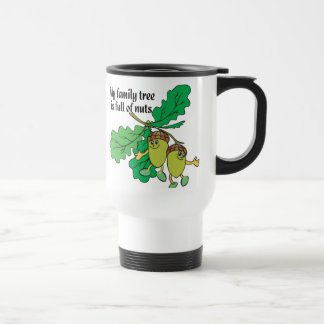 Full of Nuts Travel Mug
