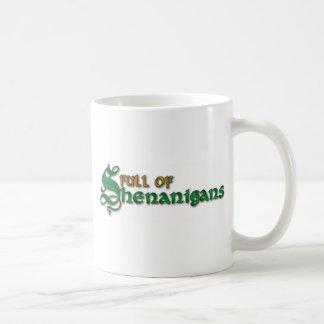 Full of Shenanigans Mugs