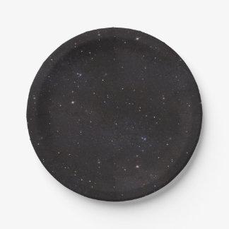 Full of Stars Paper Plate