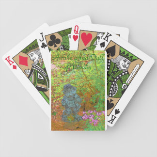 Full Of Wonder Bicycle Playing Cards