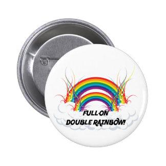 FULL-ON DOUBLE RAINBOW BUTTONS