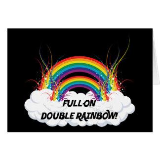 FULL-ON DOUBLE RAINBOW CARDS