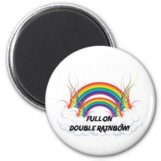 FULL-ON DOUBLE RAINBOW MAGNETS