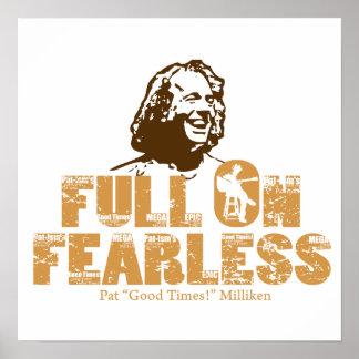 Full On Fearless-Pat Milliken Print