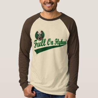 Full On Flyhead Pembe Jersey Tee Shirts