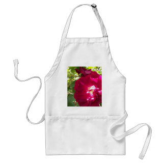 full open rose adult apron
