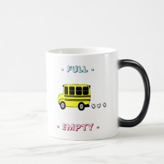 Full or Empty 11 Oz Magic Heat Color-Changing Coffee Mug