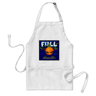 Full - Orange Crate Label Adult Apron
