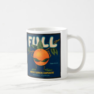 Full - Orange Crate Label Coffee Mug