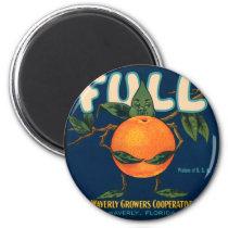 Full - Orange Crate Label Magnet